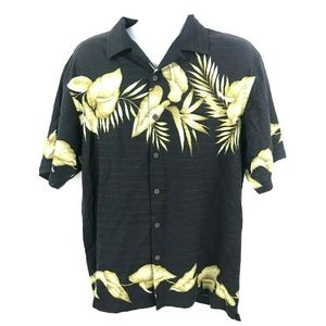 Tommy Bahama Hawaiian Silk Button Down Shirt